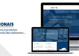 sites institucionais - site responsivo - coyote criativo